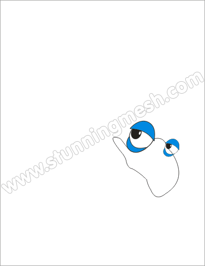 Stunningmesh - Coreldraw Tutorial - Cartoon Bird