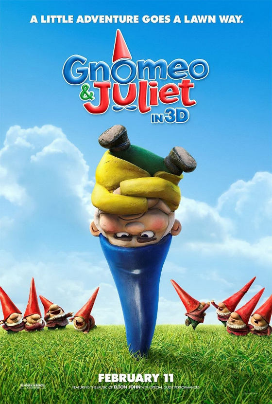 Gnomeo & Juliet in 3D
