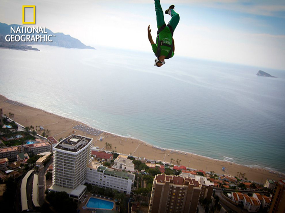 BASE Jumper, Spain