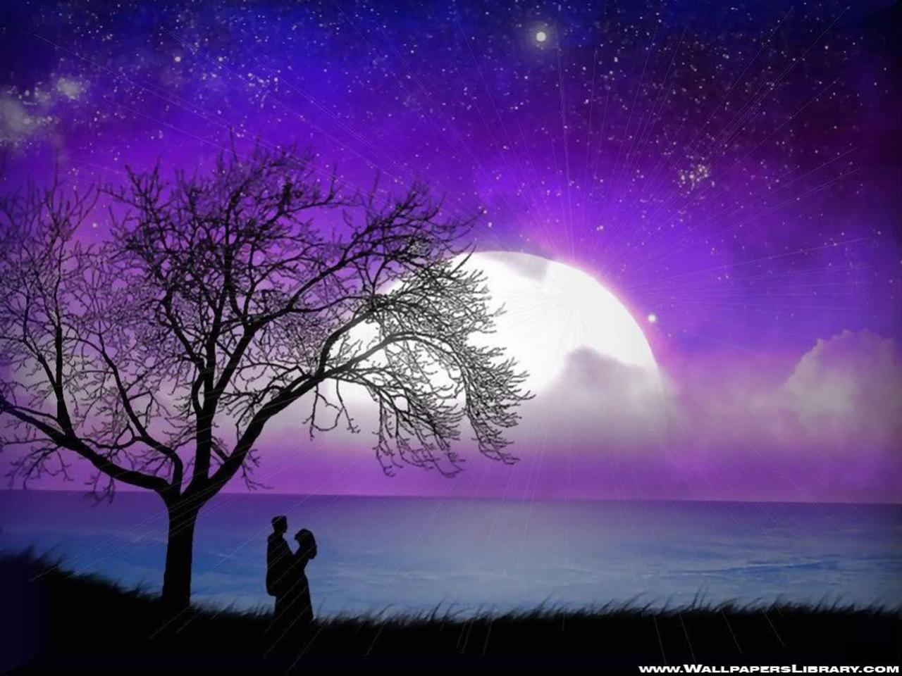 Most Inspiring Wallpaper Love Scenery - romantic-moonlight-wallpaper-large-10  2018_968077.jpg?ssl\u003d1