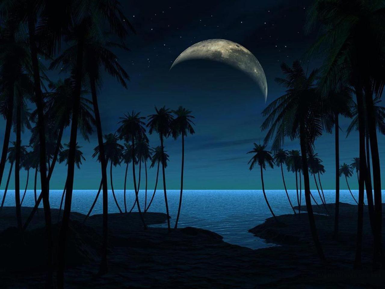 Romantic Ipad Wallpaper: Beautiful Romantic Moonlight Wallpapers