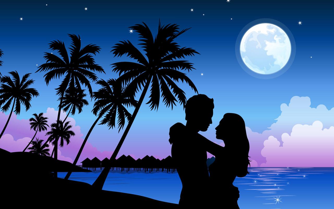 Amazing Wallpaper Love Blue - romantic-moonlight-wallpaper-large-5  Snapshot_257639.jpg?ssl\u003d1
