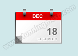 Blog Calendar Icon Design
