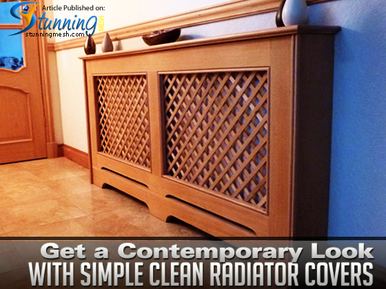 Get a Contemporary Look with Simple Clean Radiator Covers