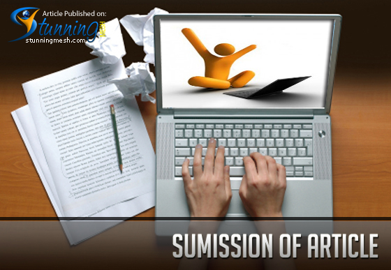 Submission of article