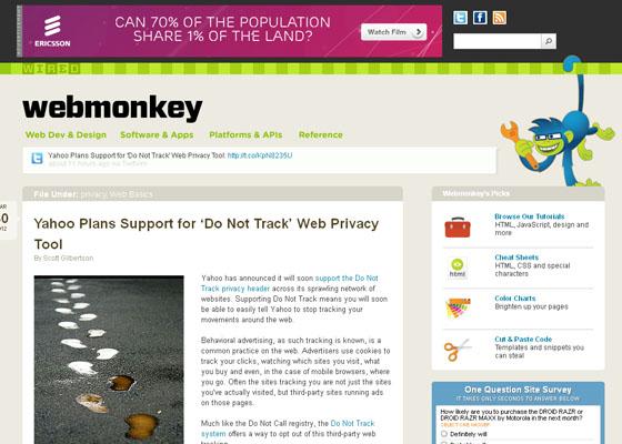 WebMonkey