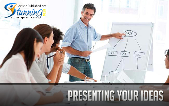 Presenting Your Ideas