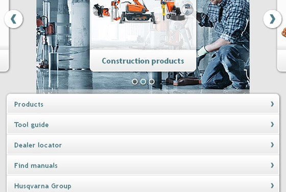 10 Nice sites made using jQuery Mobile
