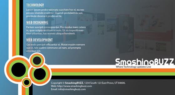 Creative Brochure Design Tutorial in Adobe Photoshop
