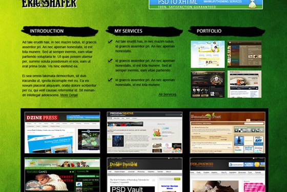 Excellent Web Layout Design Tutorials in Photoshop