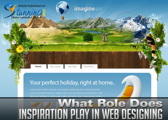 What Role Does Inspiration Play in Web Designing