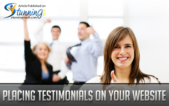 Placing Testimonials on Your Website