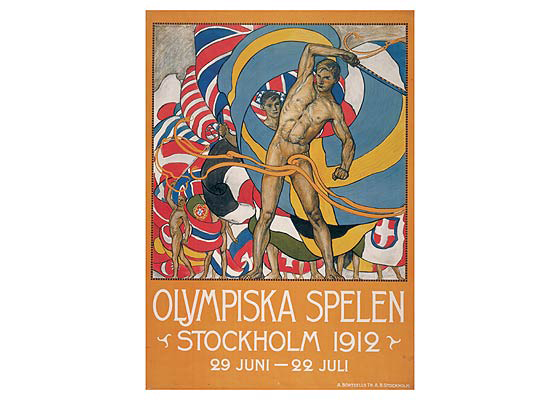 Stockholm Olympic 1912 Logo