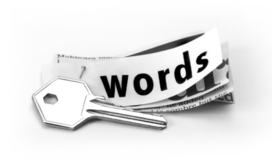 Use keywords in the appropriate location