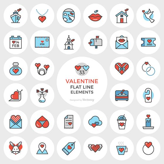 Valentine's Day Free icons