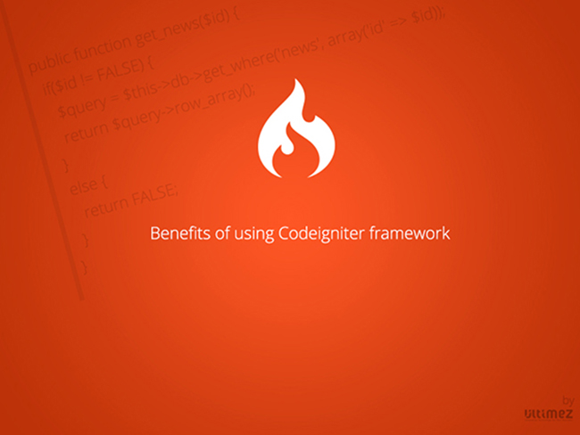 Benefits of using Codeigniter Framework