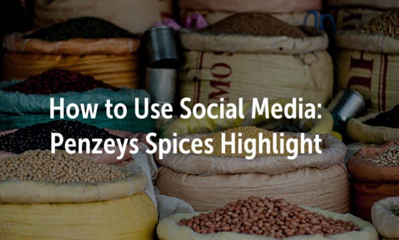 how to use social media higlight penzeys cover photo