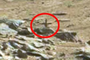 Crucifix found on Mars