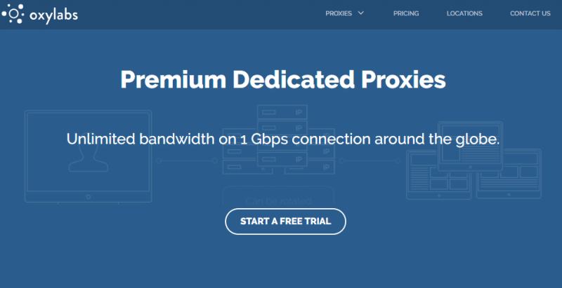 OxyLabs data center proxies