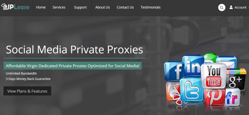 IPlease website homepage