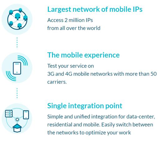 mobile IPs of luminati.io
