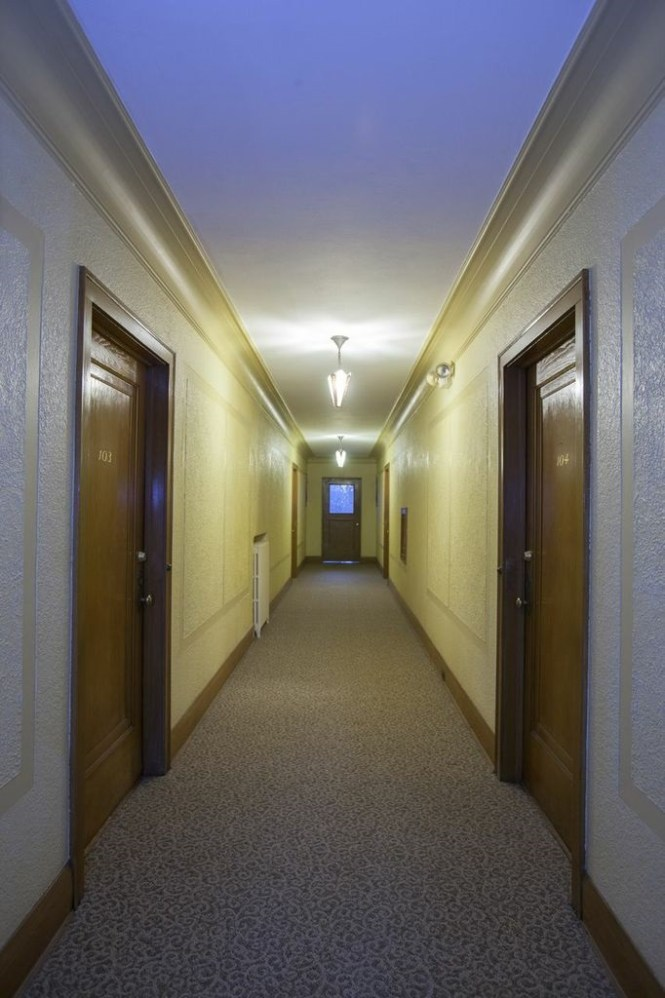 Hallway Of Uptown Mn Apartment For Stutsman Realty Inc