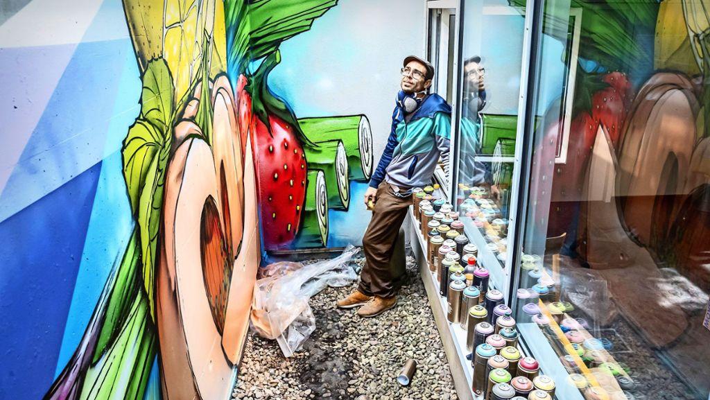 Graffiti Artist Vinzenz K Puber Hat Uns Geschadet Profil At