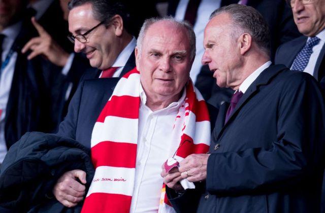 Niko Kovac zum FC Bayern: Uli Hoeneß und Karl-Heinz Rummenigge ...