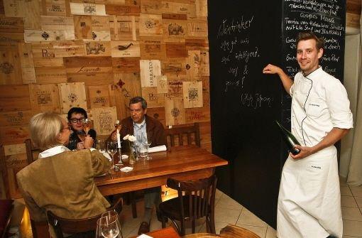 Seit Mai Chef der Boteca di Vino in Botnang: Sebastian Werning Foto: Petsch