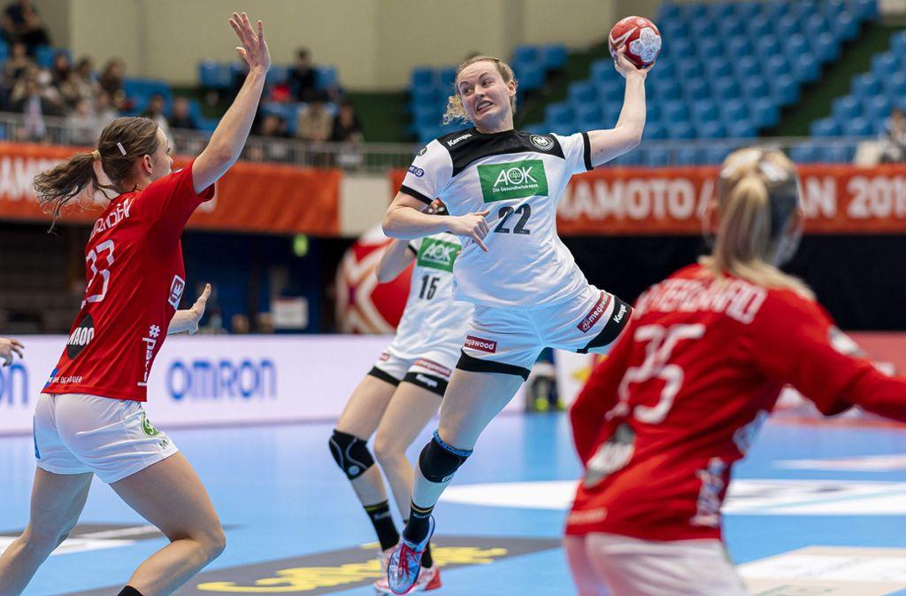 wm in japan deutsche handballerinnen
