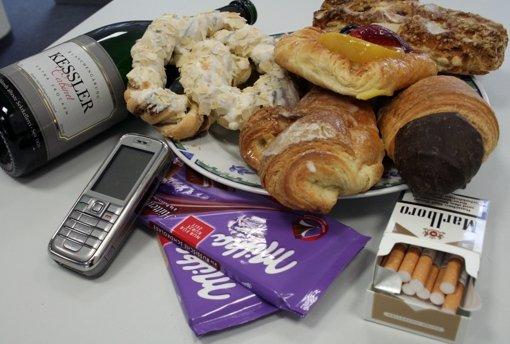 Kalorienreiche Lebensmittel sind in der Fastenzeit tabu. Foto: Isabelle Butschek