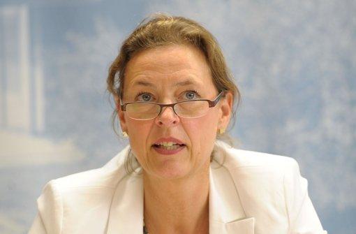 Beate Bube, Präsidentin des baden-württembergischen Verfassungsschutzes Foto: dpa