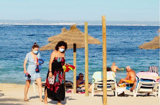 tourismus auf mallorca voll aber
