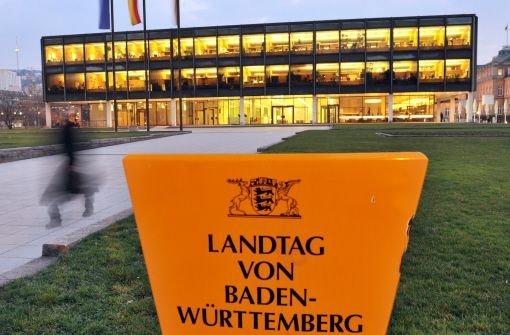 Die geplante Sanierung des Landtags könnte bis zu 40 Millionen Euro kosten. Foto: dpa