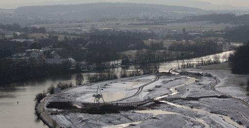 Bald sollen die Zugwiesen eine Flusslandschaft sein. Foto: FACTUM-WEISE