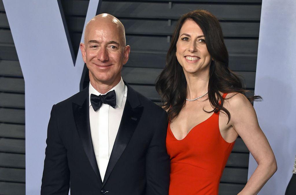 Jeff Bezos Scheidung So Viel Geld Erhalt Die Ex Frau Vom Amazon Chef Panorama Stuttgarter Zeitung