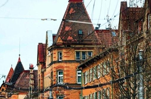 Die Klinkerbauten in der Nordbahnhofstraße zählen zu den verkauften Wohnungen. Foto: Rudel
