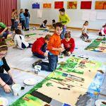 Kinder Kunst In Filderstadt Fabelwesen Im Uhlbergturm Landkreis Esslingen Stuttgarter Zeitung