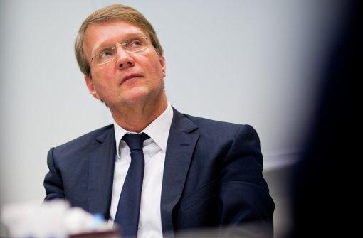 Ronald Pofalla soll sich in unzulässiger Weise für Stuttgart21 eingesetzt haben, sagen seine Kritiker. Foto: dpa