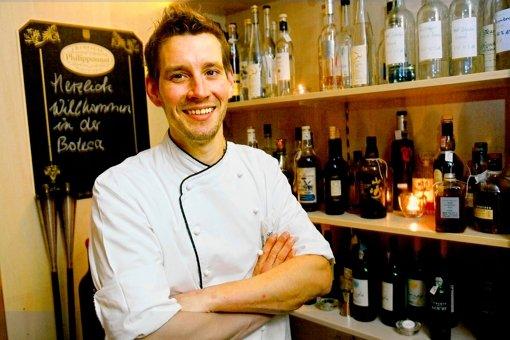 Sebastian Werning vom Restaurant Bo'teca di Vino Foto: Achim Zweygarth