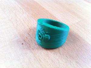 3D gedruckter Ring