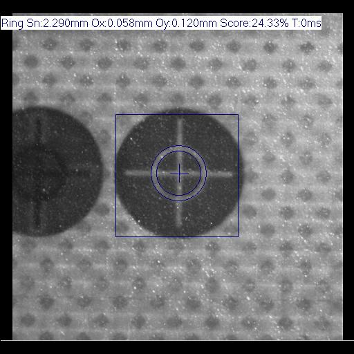 IVS Messung Kreis als Ring