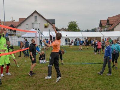 Volley-Plausch, Fussballgrümpi und Dorfolympiade