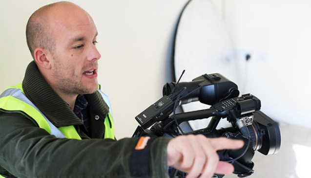 STWLC Helps Leicester-Based Cameraman Thrive as a Freelancer