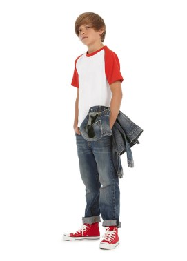 T-shirt base-ball enfant conçue pour l'action