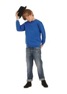 Sweat-shirt écolier poly-coton