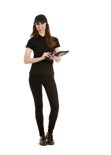 Polo femme pour cariste, magasiner, logisticien