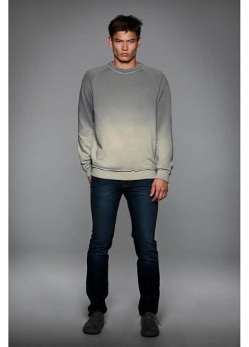 Sweat-shirt à manches raglan