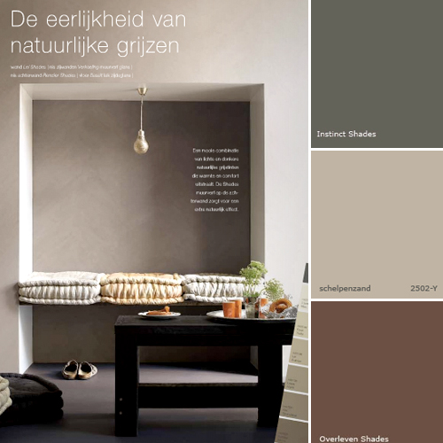 gray brown paint