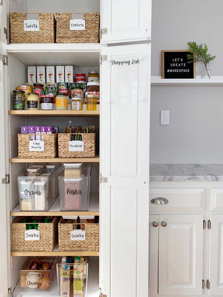 How To Organize A Cabinet Style Pantry Style Dwell